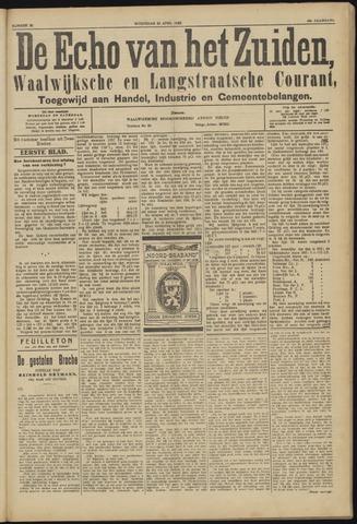 Echo van het Zuiden 1923-04-25