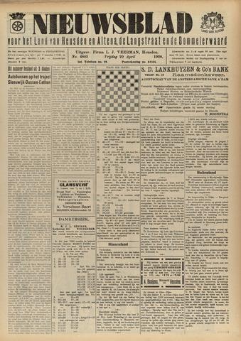 Nieuwsblad het land van Heusden en Altena de Langstraat en de Bommelerwaard 1928-04-20