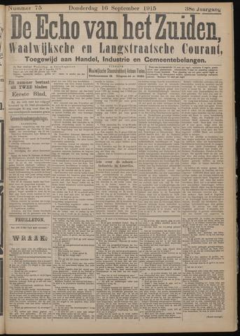 Echo van het Zuiden 1915-09-16