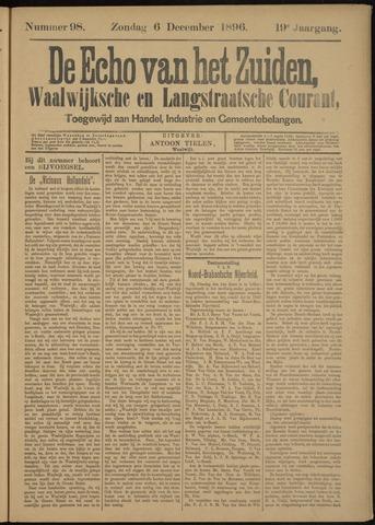 Echo van het Zuiden 1896-12-06