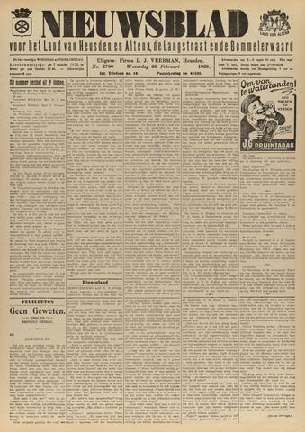 Nieuwsblad het land van Heusden en Altena de Langstraat en de Bommelerwaard 1928-02-29