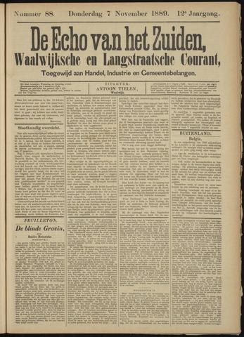 Echo van het Zuiden 1889-11-07