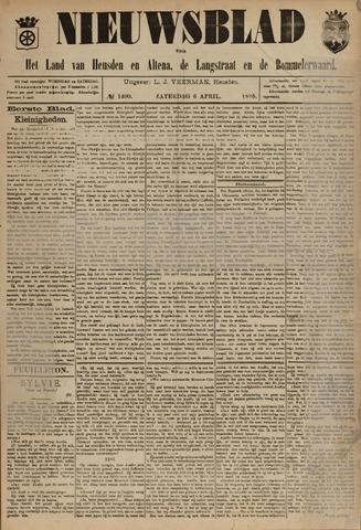 Nieuwsblad het land van Heusden en Altena de Langstraat en de Bommelerwaard 1895-04-06