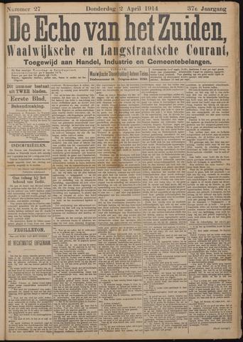 Echo van het Zuiden 1914-04-02