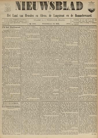 Nieuwsblad het land van Heusden en Altena de Langstraat en de Bommelerwaard 1893-05-31