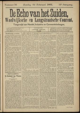 Echo van het Zuiden 1891-02-22