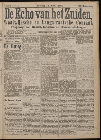 Echo van het Zuiden 1915-04-11
