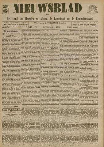 Nieuwsblad het land van Heusden en Altena de Langstraat en de Bommelerwaard 1899-07-22