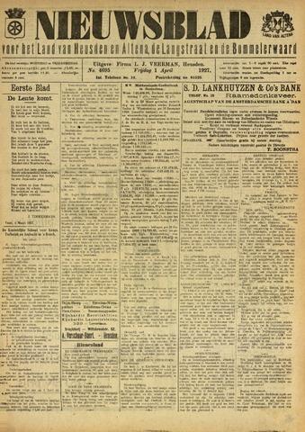 Nieuwsblad het land van Heusden en Altena de Langstraat en de Bommelerwaard 1927-04-01