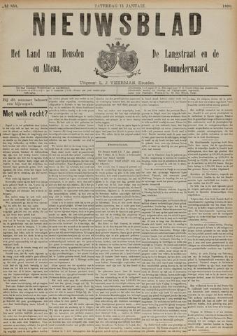 Nieuwsblad het land van Heusden en Altena de Langstraat en de Bommelerwaard 1890-01-11