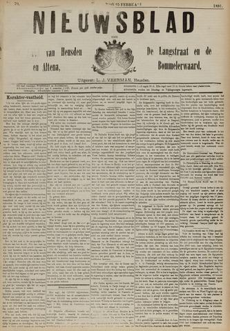 Nieuwsblad het land van Heusden en Altena de Langstraat en de Bommelerwaard 1891-02-25