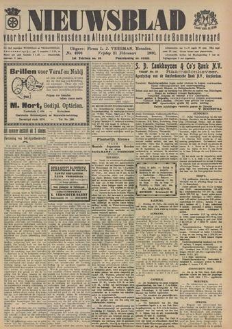 Nieuwsblad het land van Heusden en Altena de Langstraat en de Bommelerwaard 1930-02-21