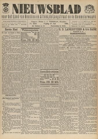 Nieuwsblad het land van Heusden en Altena de Langstraat en de Bommelerwaard 1925-07-17