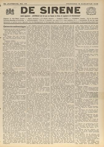De Sirene 1946-08-19