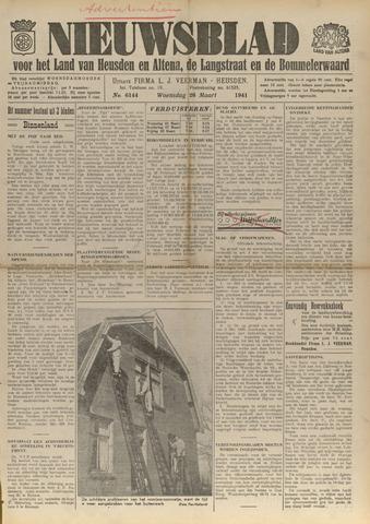 Nieuwsblad het land van Heusden en Altena de Langstraat en de Bommelerwaard 1941-03-26