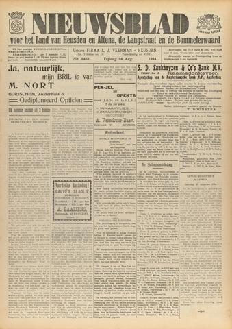 Nieuwsblad het land van Heusden en Altena de Langstraat en de Bommelerwaard 1934-08-24