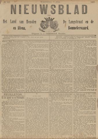 Nieuwsblad het land van Heusden en Altena de Langstraat en de Bommelerwaard 1887-07-20