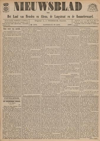 Nieuwsblad het land van Heusden en Altena de Langstraat en de Bommelerwaard 1900-01-20
