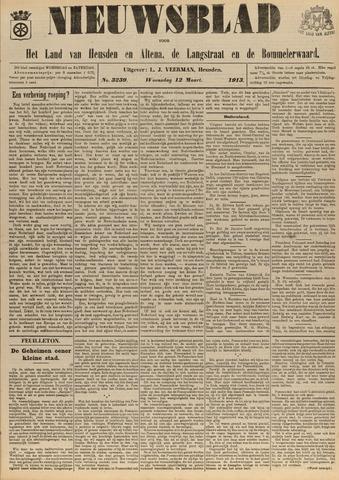 Nieuwsblad het land van Heusden en Altena de Langstraat en de Bommelerwaard 1913-03-12