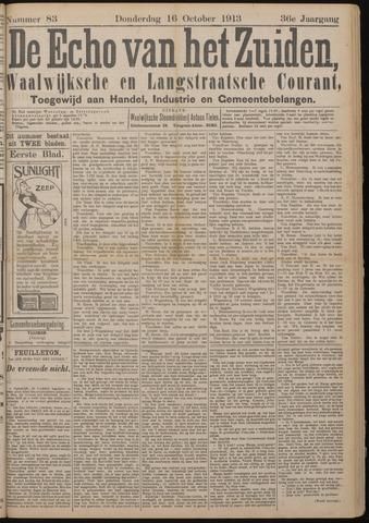 Echo van het Zuiden 1913-10-16