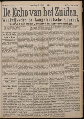 Echo van het Zuiden 1914-07-05