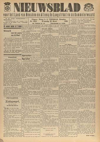 Nieuwsblad het land van Heusden en Altena de Langstraat en de Bommelerwaard 1932-03-23