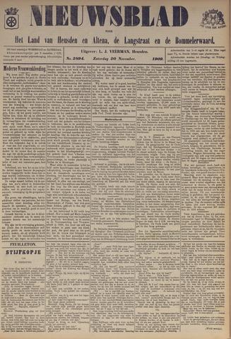 Nieuwsblad het land van Heusden en Altena de Langstraat en de Bommelerwaard 1909-11-20