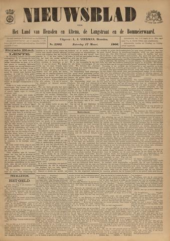 Nieuwsblad het land van Heusden en Altena de Langstraat en de Bommelerwaard 1906-03-17
