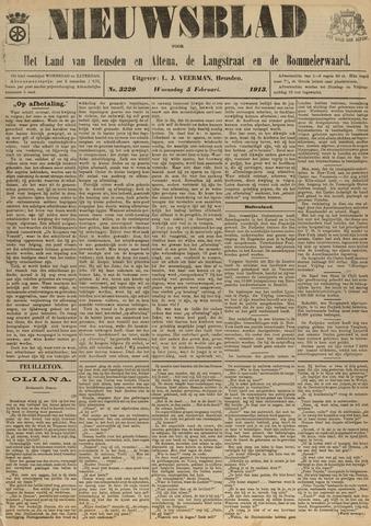 Nieuwsblad het land van Heusden en Altena de Langstraat en de Bommelerwaard 1913-02-05
