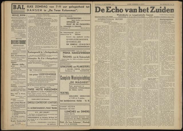 Echo van het Zuiden 1947-09-30