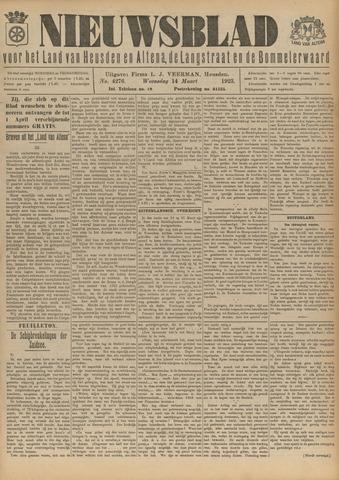 Nieuwsblad het land van Heusden en Altena de Langstraat en de Bommelerwaard 1923-03-14