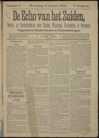 Echo van het Zuiden 1886-01-06