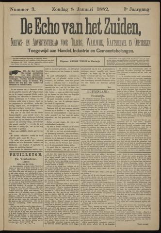 Echo van het Zuiden 1882-01-08