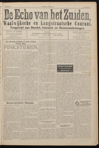 Echo van het Zuiden 1941-05-31
