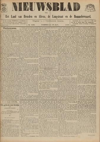Nieuwsblad het land van Heusden en Altena de Langstraat en de Bommelerwaard 1896-01-29