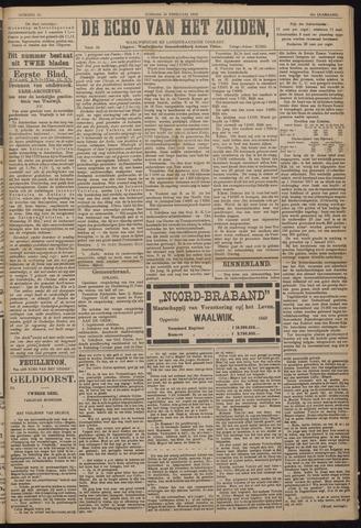 Echo van het Zuiden 1918-02-24
