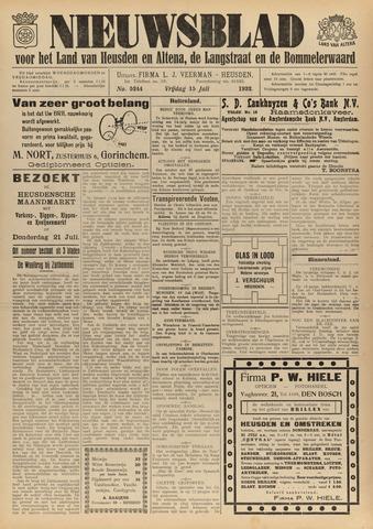 Nieuwsblad het land van Heusden en Altena de Langstraat en de Bommelerwaard 1932-07-15