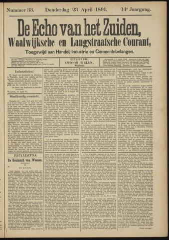 Echo van het Zuiden 1891-04-23