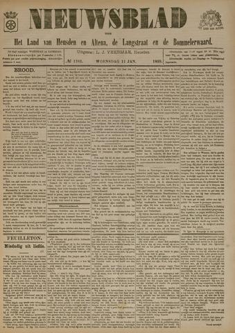 Nieuwsblad het land van Heusden en Altena de Langstraat en de Bommelerwaard 1899-01-11