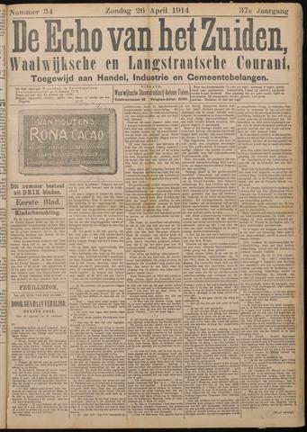 Echo van het Zuiden 1914-04-26