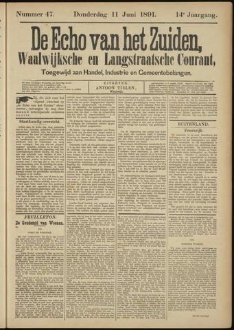 Echo van het Zuiden 1891-06-11