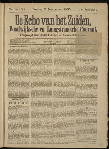Echo van het Zuiden 1895-11-03