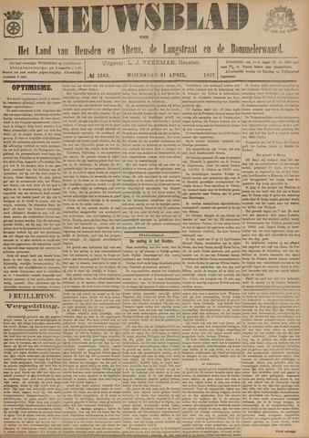 Nieuwsblad het land van Heusden en Altena de Langstraat en de Bommelerwaard 1897-04-21