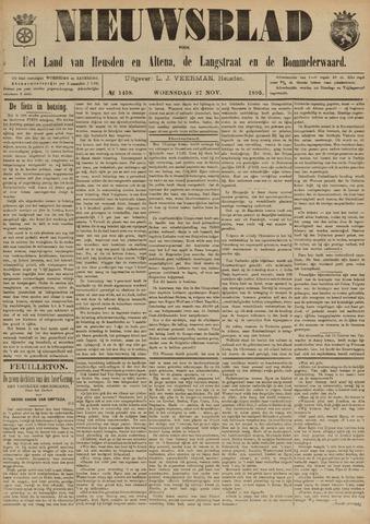 Nieuwsblad het land van Heusden en Altena de Langstraat en de Bommelerwaard 1895-11-27