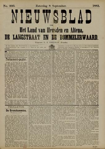 Nieuwsblad het land van Heusden en Altena de Langstraat en de Bommelerwaard 1883-09-08