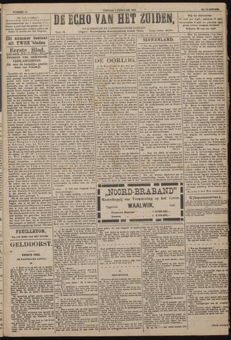 Echo van het Zuiden 1918-02-03