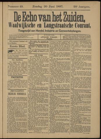 Echo van het Zuiden 1897-06-20