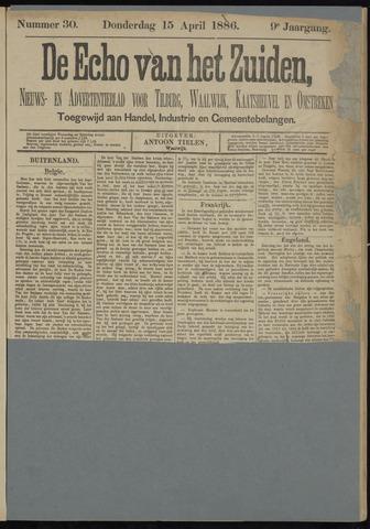 Echo van het Zuiden 1886-04-15