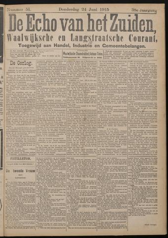 Echo van het Zuiden 1915-06-24