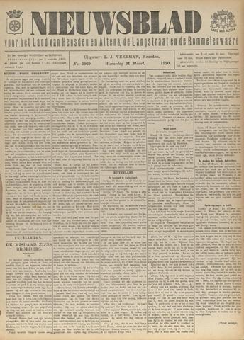 Nieuwsblad het land van Heusden en Altena de Langstraat en de Bommelerwaard 1920-03-31